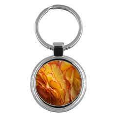 Flowers Leaves Leaf Floral Summer Key Chains (round)  by Samandel