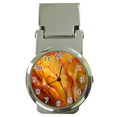 Flowers Leaves Leaf Floral Summer Money Clip Watches