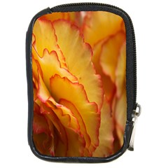 Flowers Leaves Leaf Floral Summer Compact Camera Leather Case