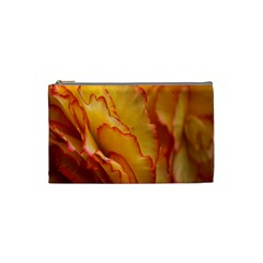 Flowers Leaves Leaf Floral Summer Cosmetic Bag (small) by Samandel
