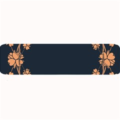 Floral Vintage Royal Frame Pattern Large Bar Mats