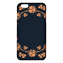 Floral Vintage Royal Frame Pattern Iphone 6 Plus/6s Plus Tpu Case