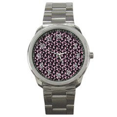 Breast Cancer Wallpapers Sport Metal Watch
