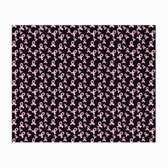 Breast Cancer Wallpapers Small Glasses Cloth (2 Side)