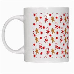 Cake Christmas Gingerbread Man Wallpapers White Mugs by Alisyart