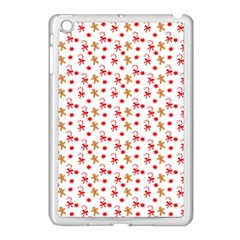Cake Christmas Gingerbread Man Wallpapers Apple Ipad Mini Case (white) by Alisyart