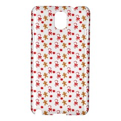 Cake Christmas Gingerbread Man Wallpapers Samsung Galaxy Note 3 N9005 Hardshell Case