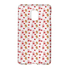 Cake Christmas Gingerbread Man Wallpapers Samsung Galaxy Note Edge Hardshell Case