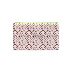 Cake Christmas Gingerbread Man Wallpapers Cosmetic Bag (xs)