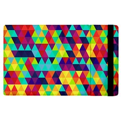 Bright Color Triangles Seamless Abstract Geometric Background Ipad Mini 4