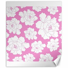 Beauty Flower Floral Pink Canvas 20  X 24