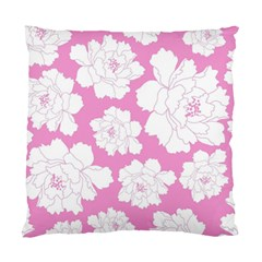 Beauty Flower Floral Pink Standard Cushion Case (one Side)