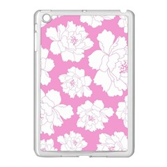 Beauty Flower Floral Pink Apple Ipad Mini Case (white)