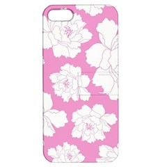 Beauty Flower Floral Pink Apple Iphone 5 Hardshell Case With Stand