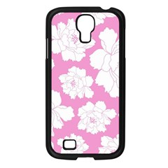 Beauty Flower Floral Pink Samsung Galaxy S4 I9500/ I9505 Case (black)