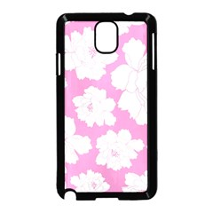 Beauty Flower Floral Pink Samsung Galaxy Note 3 Neo Hardshell Case (black)
