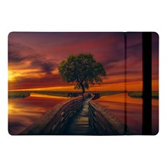 Wonderful Fantasy Sunset Wallpaper Tree Apple Ipad 9 7
