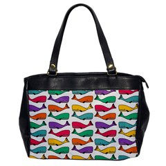Fish Whale Cute Animals Oversize Office Handbag by Alisyart