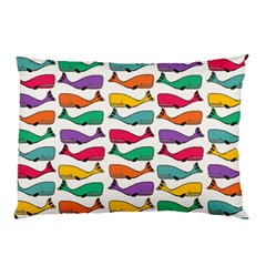 Fish Whale Cute Animals Pillow Case (two Sides)