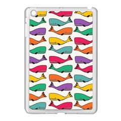 Fish Whale Cute Animals Apple Ipad Mini Case (white)