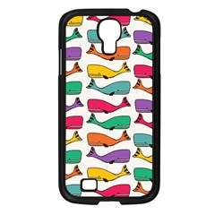 Fish Whale Cute Animals Samsung Galaxy S4 I9500/ I9505 Case (black) by Alisyart
