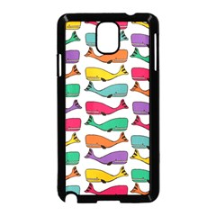 Fish Whale Cute Animals Samsung Galaxy Note 3 Neo Hardshell Case (black)