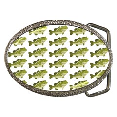 Green Small Fish Water Belt Buckles by Alisyart