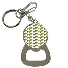 Green Small Fish Water Bottle Opener Key Chains