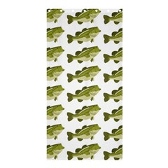 Green Small Fish Water Shower Curtain 36  X 72  (stall)  by Alisyart