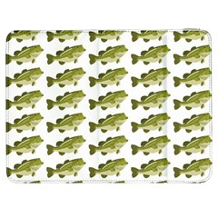 Green Small Fish Water Samsung Galaxy Tab 7  P1000 Flip Case