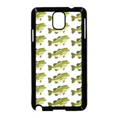 Green Small Fish Water Samsung Galaxy Note 3 Neo Hardshell Case (black)