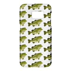 Green Small Fish Water Samsung Galaxy S7 Hardshell Case
