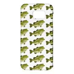 Green Small Fish Water Samsung Galaxy S7 Edge Hardshell Case