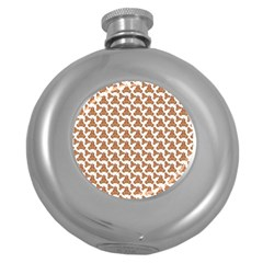 Babby Gingerbread Round Hip Flask (5 Oz)
