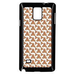 Babby Gingerbread Samsung Galaxy Note 4 Case (black)
