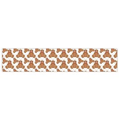 Babby Gingerbread Small Flano Scarf