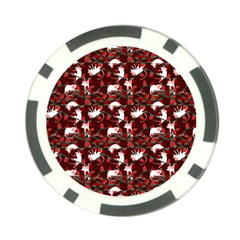 Cartoon Mouse Christmas Pattern Poker Chip Card Guard