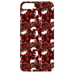 Cartoon Mouse Christmas Pattern Apple Iphone 5 Classic Hardshell Case by Alisyart