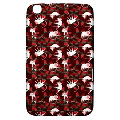 Cartoon Mouse Christmas Pattern Samsung Galaxy Tab 3 (8 ) T3100 Hardshell Case  by Alisyart