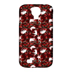 Cartoon Mouse Christmas Pattern Samsung Galaxy S4 Classic Hardshell Case (pc+silicone)