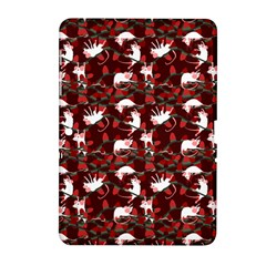 Cartoon Mouse Christmas Pattern Samsung Galaxy Tab 2 (10 1 ) P5100 Hardshell Case  by Alisyart