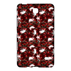 Cartoon Mouse Christmas Pattern Samsung Galaxy Tab 4 (7 ) Hardshell Case