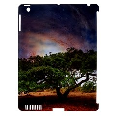 Lone Tree Fantasy Space Sky Moon Apple Ipad 3/4 Hardshell Case (compatible With Smart Cover)