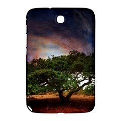 Lone Tree Fantasy Space Sky Moon Samsung Galaxy Note 8 0 N5100 Hardshell Case  by Alisyart