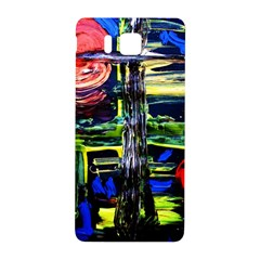 Between Two Moons 1 Samsung Galaxy Alpha Hardshell Back Case by bestdesignintheworld
