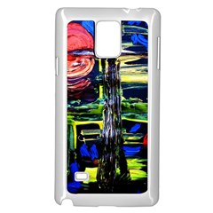 Between Two Moons 1 Samsung Galaxy Note 4 Case (white)