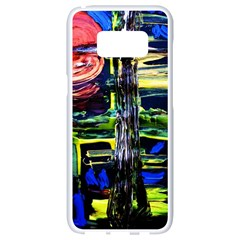 Between Two Moons 1 Samsung Galaxy S8 White Seamless Case