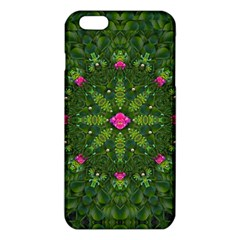 The Most Sacred Lotus Pond  With Bloom    Mandala Iphone 6 Plus/6s Plus Tpu Case