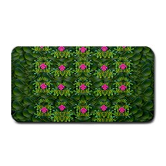 The Most Sacred Lotus Pond With Fantasy Bloom Medium Bar Mats by pepitasart