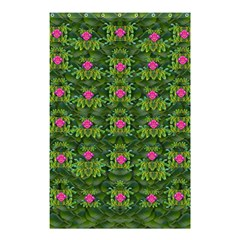 The Most Sacred Lotus Pond With Fantasy Bloom Shower Curtain 48  X 72  (small)  by pepitasart